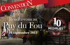 Convention Medialibs 2015 Puy du Fou