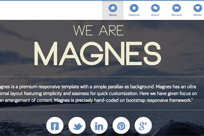 theme wordpress Magnes