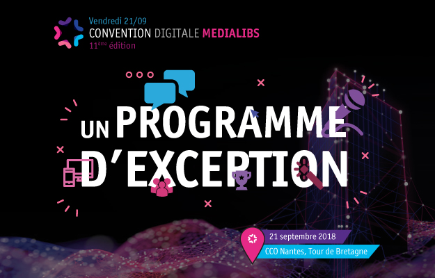 programme convention digitale medialibs 2018
